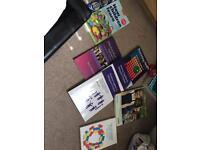 Bundle of books for childhood studies
