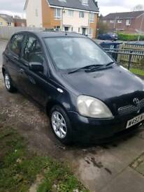 Toyota yarise for sale