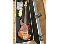 Fender American Standard Jazz Bass Guitar- with Fender Hardcase