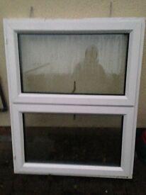 Window white double glazed
