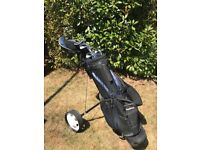Wilson Golf Set - bag, trolly, clubs and more