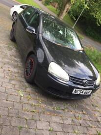 Vw Golf 1.4 fsi spares and repairs 54plate
