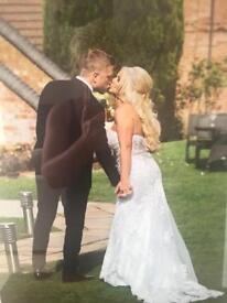 Wedding Dress, size12 in ivory £250