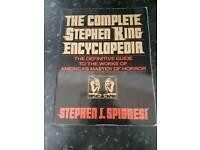 RARE STEPHEN KING ENCYCLOPEDIA