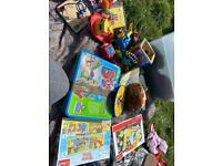 Bundle toys games etc