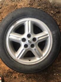 New Land Rover wheel