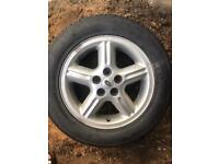 New Land Rover wheel