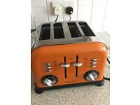 Morphs Richards orange 4 slice toaster working