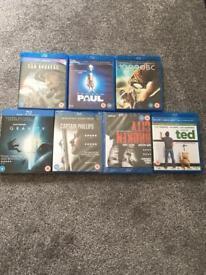 Blu Ray DVD movie film bundle