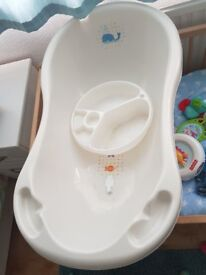 Baby Bath, Top n Tail bowl, Moses basket and stand - will split if required