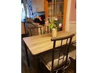 Fair good table and chair 70.00