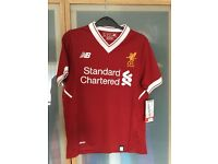 Liverpool FC kids football top age 7-8 brand new with tags