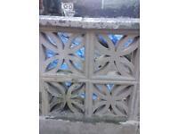 Garden walling ect