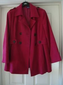 Womens Jacket as new from M & S Size 14 Petite