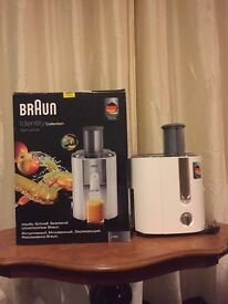 Never used BRAUN Identity collection spin juicer