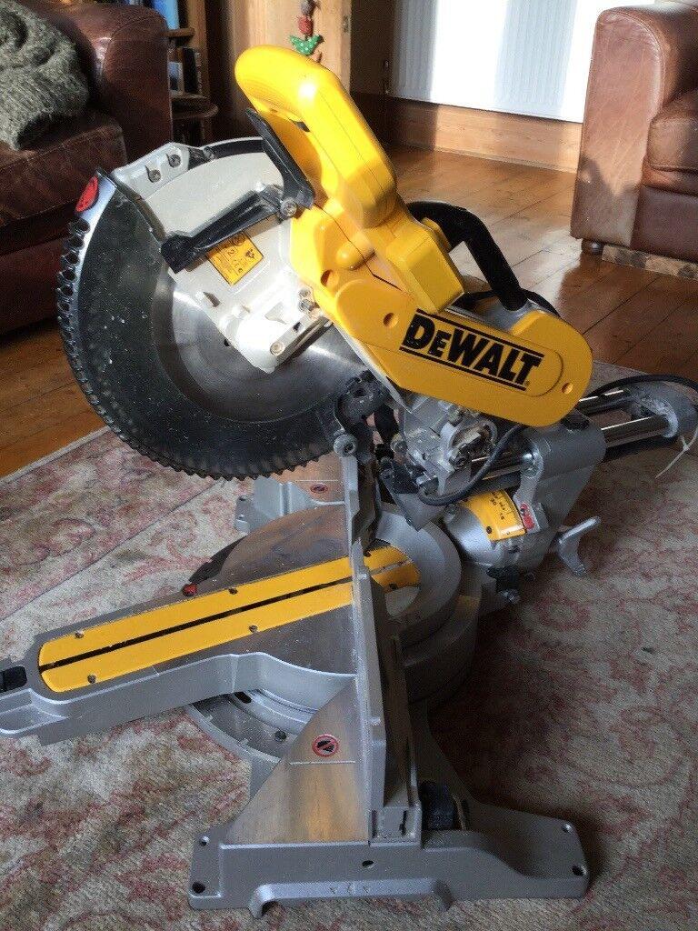 "Dewalt DWS780 12"" Sliding Mitre Saw"