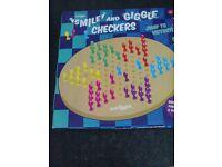 smile and giggle checkers brand new 6+ yrs
