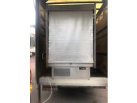Commercial Multi deck Display fridge / dairy Display Stainless Steel- Excellent Condition