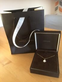 BRAND NEW Ernest Jones 9ct Gold Pearl Necklace