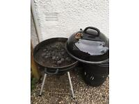 Large coal BBQ
