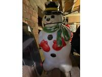 Snowman Blowmould
