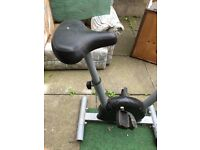 Lightweight flexible home exercise bike to improve your fitness rain or sunshine