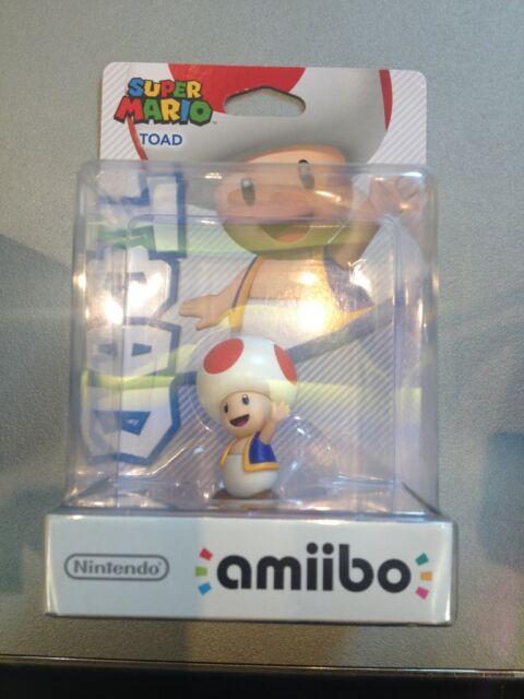 Amiibo - Super Mario Toad Figur