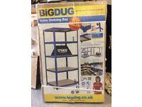 BIG DUG RACKING MD4C 1780hx900wx600d 175kg brand new RRP £154.80 plus VAT for £50