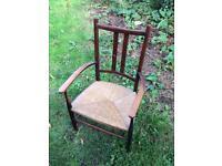 Lovely old oak chair