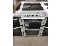BRAND NEW FLAVEL 50CM WHITE ELECTRIC COOKER WITH OVEN GRILL