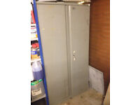 Metal Storage Toolbox Cabinet Tall and Lockable – Straight and Very Robust – SOUTH BRISTOL AREA