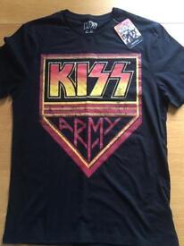 Men's kiss t-shirt
