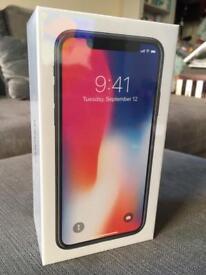 iPhone X unlocked and still sealed!