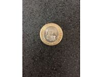 Rare William Shakespeare's £2 coin