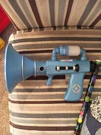Minion fart blaster