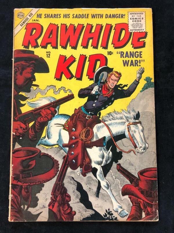 Rawhide Kid #12 Atlas Comics VG