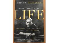 WWE Shawn Michaels book