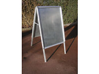 Freestanding A frame poster display board