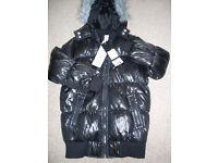 Child's winter puffer jacket