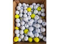 Golf balls grade A 40p