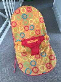 Baby bouncer good condition £6