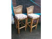 Bamboo bar stools (priced each)