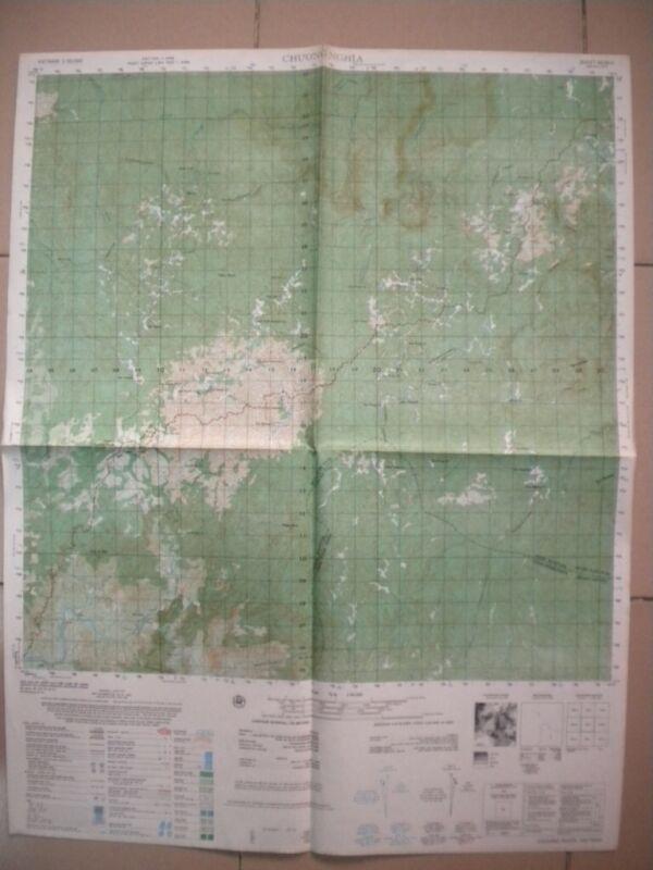 Plateau G I Airfield CHUONG NGHIA Vietnam map  Kontum 6638 II