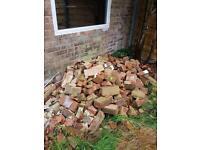 Used bricks/hardcore/rubble - free
