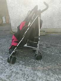 Mclaren double buggy. Fantastic condition