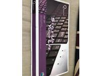 Stylish alloy keyboard