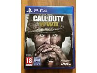 Call of duty ww2 , Ps4 , as new ! Price stands , no offers !