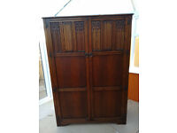 Vintage Wooden Wardrobe made by Crown AY