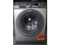 8kg Grey hotpoint silent Washer, new model,excellent cond,4 months warranty