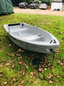 Boat tender inflatable fishing